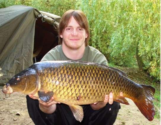 kenny and a big fish