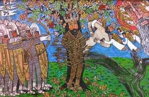 St Edmund's martyrdom (Brian Wheelan)