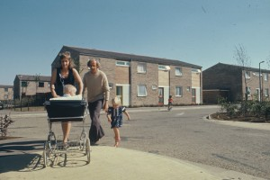 1970s people with pram PDC FYO