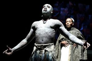 Theo Ogundpipe in the RSC production of Julius Ceaser