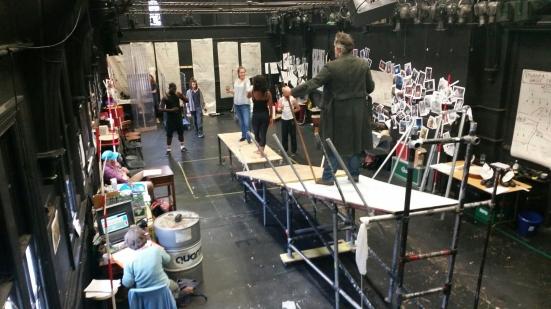 Ragnarok in rehearsal