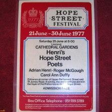 hope street festival 1977